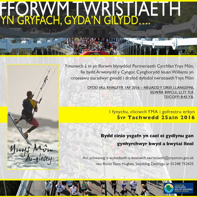 tourism forum poster welsh